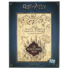 Harry Potter Jigsaw Puzzle The Marauders Map - 500 Pieces - PUZZHP04 - NEW