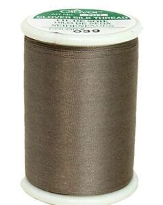 CLOVER - TIRE SILK 50wt thread - Taupe 109 yd spool # 701 color 039 NEW!