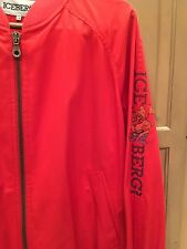 Iceberg Red Vintage Disney Character Golf Themed Jacket