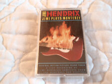 JIMI HENDRIX PLAYS MONTEREY CASSETTE NEW LIVE IN CONCERT THE EXPERIENCE