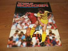 Fútbol Revista World Soccer NOVIEMBRE 1982 Sampdoria Charlton Athletic Robson