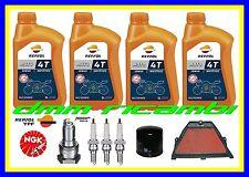 Kit Tagliando HONDA CBR 600 RR 04 Filtro Aria Olio REPSOL 10W40 Candele NGK 2004