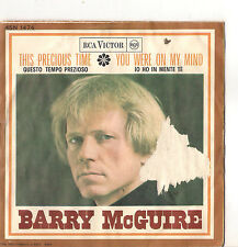 BARRY McGUIRE - THE PRECIOUS TIME - YOU WERE ON MY MIND - VG-/VG+