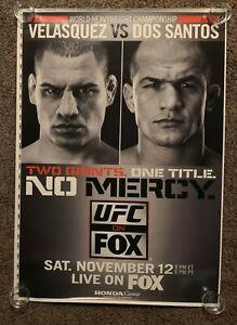 Official UFC Fox 1 - Cain Velasquez vs Dos Santos Poster Proof 28x40 (Near Mint)