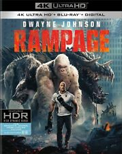 Rampage (4K Ultra HD)(UHD)(Dolby Vision)(Atmos)(Pre-order / Jul 17)