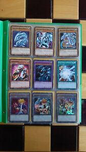 Pokemon Binder Holo Neo Base Set Gym Card Collection Yu-Gi-Oh Bundle +