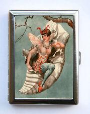 Cigarette Case id case Wallet La Vie Parisienne Butterfly Cocoon Art Deco
