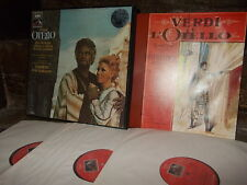 VERDI: Otello > Vickers Freni Glossop Berlin Karajan / EMI France 3 LPs stereo