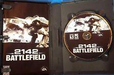 Battlefield 2142 (PC, 2006) Case, manual, Disc, key                  S-3