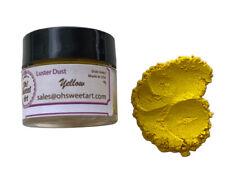 Yellow Luster Dust Food Fondant Color Cake Decorating Gum Paste 4 g
