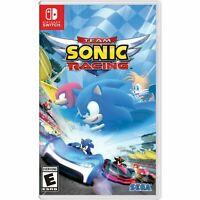 Team Sonic Racing Nintendo Switch New!