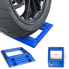 Large Motorcycle / Motorbike Tyre / Wheel Spinner & Easy Chain Cleaning Stand