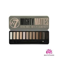 PALETTE  FARDS OMBRES A PAUPIÈRES W7 MIGHTY MATTES NATURAL NUDES  MAQUILLAGE