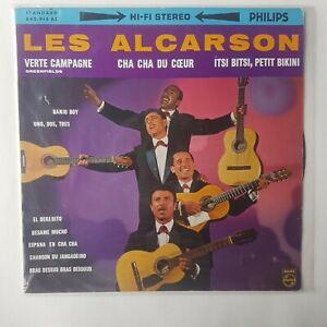 LES ALCARSON : VERTE CAMPAGNE ♦ LP 25 cm ♦ 33t. ROCK 60s