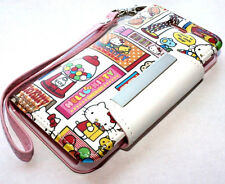 for iPhone 5 5S SE -Pink Hello Kitty Leather Card Wallet Holder Pouch Case Cover