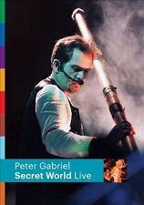 SECRET WORLD DVD PETER GABRIEL BRAND NEW SEALED
