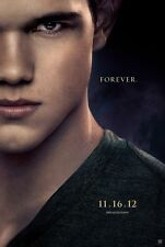 TWILIGHT BREAKING DAWN PART 2  Original Promo Movie Poster SDCC 2012 MINT JACOB