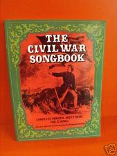 THE CIVIL WAR SONGBOOK   (H12)