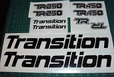 Transition Bike Decals 450 or 250 DH MTB TR Covert Bandit Blindside Freeride