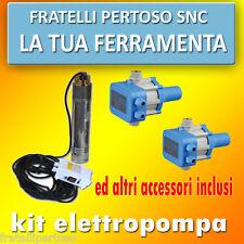KIT ELETTROPOMPA SOMMERSA HP 1+ 2 PRESSCONTROL + VARI ACCESSORI