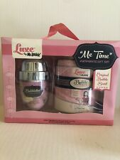 Mr. Bubble LUXE Me Time Pampering RETRO PINK Bath Set BUBBLETINI Shaker&Tin NOS