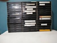 Lot Of 45 Pre-Recorded TDK T-120 6 HOURS VHS Tapes Sold As Used Blank