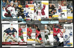 2010-11 20th TO 2018-19 UPPER DECK YOUNG GUNS ROOKIE RC NHL HOCKEY CARD SEE LIST