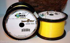 POWER PRO Super 8 Slick Gelb 10m 0,13mm 0,15mm 0,19mm 0,23mm 0,28mm 0,32 Yellow