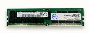 Dell CERTIFIED  32GB 2Rx4 PC4-2666V-R SNPTN78YC/32G Memory RAM HMA84GR7AFR4N-VK