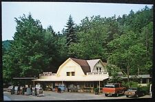 Cooksburg PA Macbeth Cabins Camping Gas Clarion River RT36 Pennsylvania Postcard