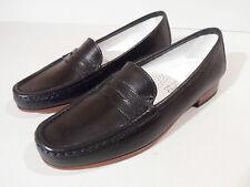 Gabriele by G. Beni Ladies Black Leather Sole Shoes Heel EU 35 UK 2.5 Italian