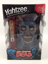 The Walking Dead Collector's Edition Yahtzee - Zombie Head - Factory Sealed
