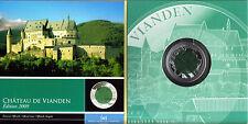 Luxembourg 5 Euro 2009 Castle of Vianden Niob / Silver BIMETALLIC PROOF