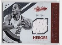 2016-17 Kevin Duckworth #/149 Panini Absolute Heroes Materials Jersey