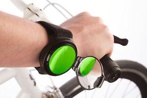 RearViz Slim Line SL-15 Wrist Rear View Mirror for Bicycles