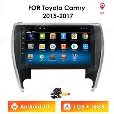 For 2015-17 Toyota Camry 10.1'' Android 10 Car Radio GPS Navi Stereo 4G + Camera