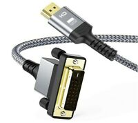 3M DVI to HDMI 4K Cable Bi Directional Nylon Braided Support 1080P Full HD