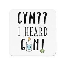Fitness I Heard Gin Kühlschrankmagnet - Gin und Tonic Cocktail lustig
