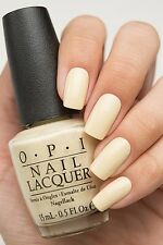 OPI '16 Soft Shade Pastel ~ONE CHIC CHICK~ Soft YELLOW Creme Nail Polish Lacquer