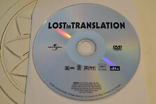 Lost in Translation (DVD, 2004, Full Frame)Disc Only Free Shipping