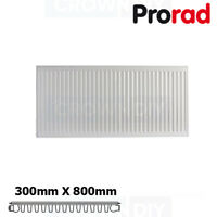 300 x 800mm Small Compact Radiator Single Convector Panel Type 11 K1 ProRad