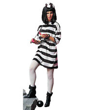Lady Convict Adult Womens Prisoner Halloween Costume-Std
