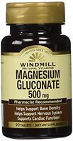 4 Pack Windmill Magnesium 500mg Natural Vitamins Supplement 90 Tablets Each