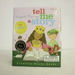 eeBoo Fairytale Mix-ups, Tell Me A Story Creative Cards, 3+, Best Toy Award!
