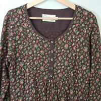 [ CATH KIDSTON ] Womens Floral Print Long sleeves Dress | Size M or AU 12 / US 8