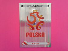 FIGURINE PANINI EURO 2012 - N. 50 SCUDETTO POLSKA