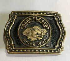 country music made in Usa Vtg Grand Ole Opry Belt Buckle