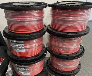Vencroft 1.5m 100m Drum 2 Core + Earth FP Fire Alarm Cable Red