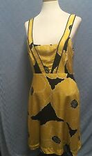Moulinette Soeurs Anthropologie Vetements Sleveless Lined Silk Dress Size 8