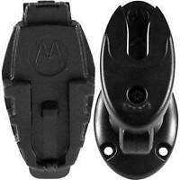 NNTN51: Motorola Universal Belt Clip Holder & Dash Mount with two Adhesive Tabs